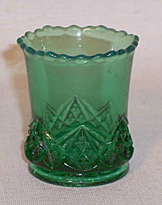 toothpick holder: Diamond Spearhead green (Image1)