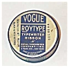 Click to view larger image of Vogue green/blue floral typewriter tin (Image3)