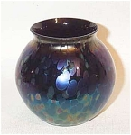 Click here to enlarge image and see more about item 1910: Rindskopf Classic ball 3 inch Papillon vase