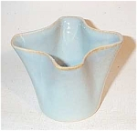 Click to view larger image of Ballard #12 four lobe blue vase (Image1)