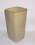 Click here to enlarge image and see more about item 2681: Ballard #10 10 inch tall square top vase