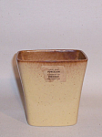 Click to view larger image of Ballard #19 yellow tan vase (Image1)