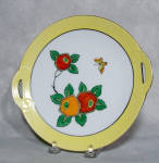 Click here to enlarge image and see more about item 3107: Noritake 8 inch Art Deco floral plate