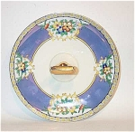 Click to view larger image of Noritake Deco black band luster server. NR! (Image1)
