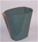 Click here to enlarge image and see more about item 3434: Ballard #16 4.5 inch 2 lobe green vase
