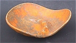 Click here to enlarge image and see more about item 3869: Haeger 2115 Orange Peel 4 rest ashtray