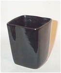 "Produced by Vermont Mid-Century studio potter Stanley Ballard, a student of Glidden Parker at Alfred University in the 1940s who worked in the Burlington area, this all black #41 vase stands 3 1/2"" tall x 3"" wide.  One of the only shapes where I have seen more than one all black vase. Excellent condition"