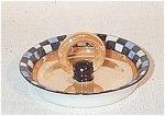 Noritake Deco luster ring portable ashtray