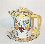 Click to view larger image of Noritake Deco VP 771 motif griffin syrup set (Image1)