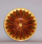 Click here to enlarge image and see more about item 4445: Annemarie Davidson enamel Starburst dish