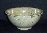 Click here to enlarge image and see more about item 5115: Texas Ware #118 vintage green speckled bowl
