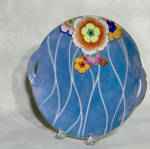 Click to view larger image of Noritake Deco tab handled serving plate (Image1)