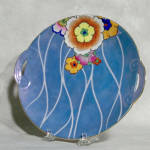 Click to view larger image of Noritake Deco tab handled serving plate (Image2)