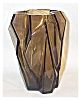 Click to view larger image of Ruba rombic smoky topaz 6 inch vase (Image2)