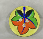 This Noritake Deco 6 1/4  inch wide lemon server has a great look! It is one of the most stylized Noritake designs I have seen. 