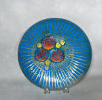 Click to view larger image of Annemarie Davidson mid-century Jewel plate (Image1)