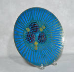 Click to view larger image of Annemarie Davidson mid-century Jewel plate (Image2)