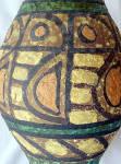 Click to view larger image of Bitossi Bagnoli Brutalist wide Fish vase (Image2)