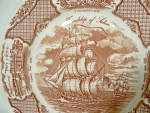 Click to view larger image of Set 8 Meakin Fair Winds dinner plates (Image3)