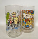 Click to view larger image of pair McDonalds 1981 Muppet Caper movie glass (Image2)