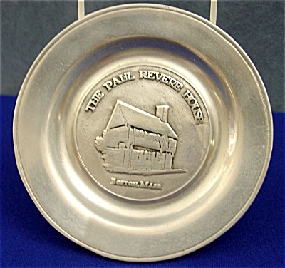 The Paul Revere House Plate By Wilton Armetale