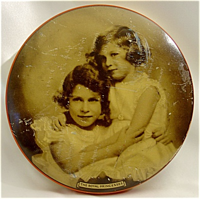 1930s Riley's Toffee Tin Wtih The Royal Princesses