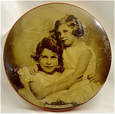 1930s Riley's Toffee Tin Wtih The Royal Princesses (Image1)