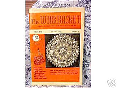 Vintage 1952 The Workbasket - Needlecraft Mag (Image1)
