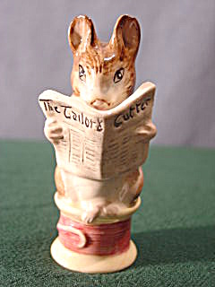 Beswick Beatrix Potter's Tailor Of Gloucester 1949