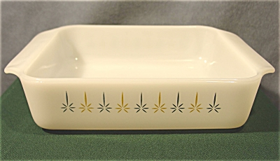 Fire King's Candleglow 8in. Cake Dish
