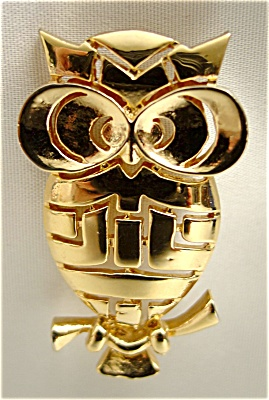 Wide Eye Owl Pin (Image1)