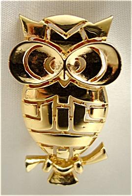 Wide Eye Owl Pin (Image1)