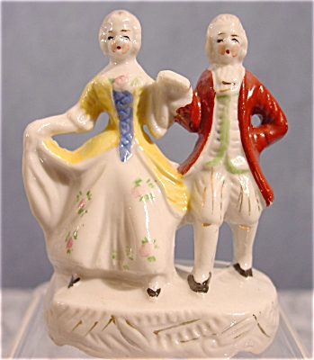 Dancing Pair Figurine - Occupied Japan
