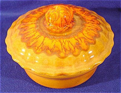 Vintage DeForest Lazy Susan Center Covered Dish No. 337 (Image1)