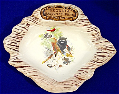 Sequoia National Park Souvenir Ashtray/Dish (Image1)