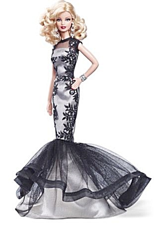Classic Evening Gown Barbie® Doll Platinum Label (Image1)