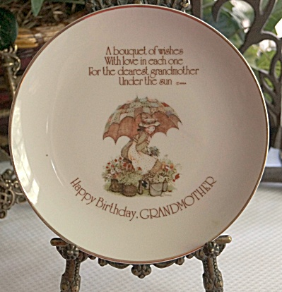 Lasting Memories 'Happy Birthday' GRANDMOTHER 6-inch Plate (Image1)