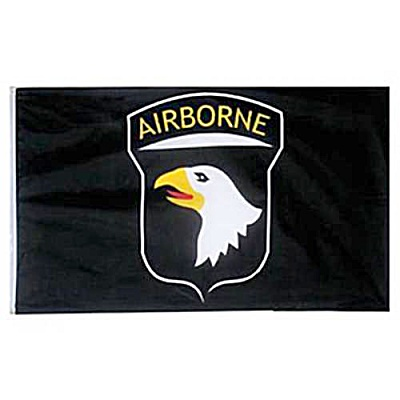 US Army 101st Airborne Division Flag (Image1)