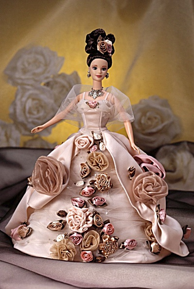 Antique Rose Barbie® Doll