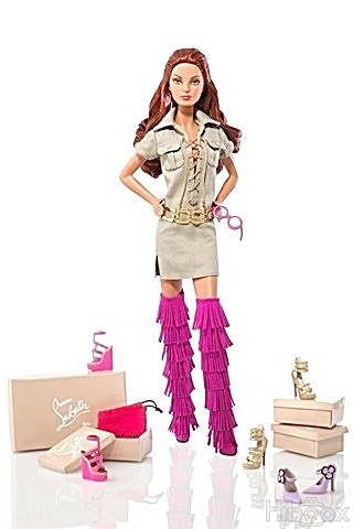 Dolly Forever Barbie® Doll by Christian Louboutin (Image1)
