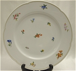 Click here to enlarge image and see more about item 011: Bauscher Weiden Floral Dinner Plate