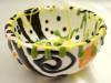 Click to view larger image of Handcrafted Impressionist Bowl - Small (Image5)