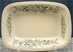 Vintage Wedgwood & Co. Rectangular Vegetable Dish