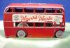 Click to view larger image of Player's Navy Cut Double Decker Bus on Wade Tray (Image4)
