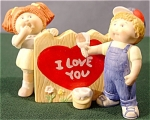 Click to view larger image of Cabbage Patch Kids Valentine's Day Figurine (Image1)