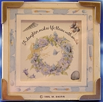 <b>From Hallmark and Marjolem Bastin comes this inspirational 'A Daughter Makes Life Bloom With Smiles' picture plaque. 