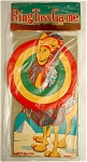 Click here to enlarge image and see more about item 064: 1950s Die Cut Litho Camel Ring Toss Game