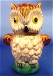 Click here to enlarge image and see more about item 065: Vintage Goebel Owl Figurine - W. Germany