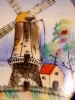 Click to view larger image of Hand Painted Windmill Plate (Image2)
