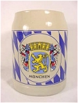 Click here to enlarge image and see more about item 103379: Munchen Stein/Mug with Lion Crest